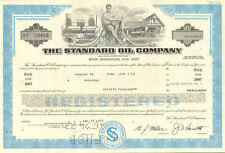 The Standard Oil Company > gas service station bond certificate stock share