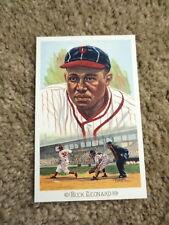 Perez Steele Celebration Hall of Fame Postcard Buck Leonard Negro League