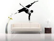 Wall Room Decor Art Vinyl Sticker Mural Decal Ballet Dance Women Ballerina FI341