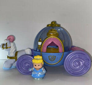 Fisher Price Little People Disney Princess Cinderella & Musical Carriage