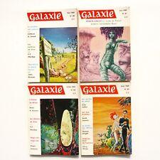 Lot de 4 livres GALAXIE n°60-61-62-63- 1969 - Science Fiction - Fantastique