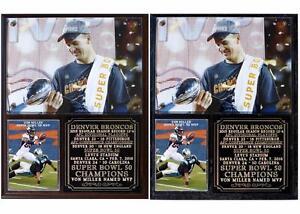 Denver Broncos Super Bowl 50 Champions Photo Plaque Peyton Manning Von Miller