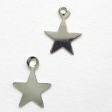 Unbranded Silver Craft Flatback Charms & Cabochons