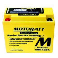 Batteria potenziata MBT12B4 Motobatt Ducati 1198 2009-2011 = Yuasa: YT12BBS