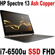 World thinnest HP Spectre 13 i7 8GB 512GB SSD Laptop Dark Luxe Ash Copper Laptop