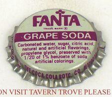 Unused 1960s Mayodan North Caolina Fanta Grape Soda Crown Tavern Trove