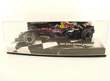 Minichamps - F1 Red Bull Racing Renault RB3 #14 Coulthard 2007 1/43 boite MIB