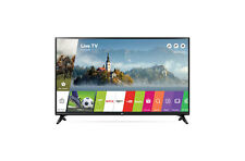 "LG 43LJ5500 43"" Black 1080P LED Smart HDTV With WebOS 3.5 | Virtual Surround"