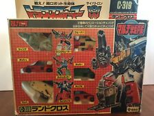 LANDCROSS C-319 Transformers G1 Victory Complete In Box MIB Japanese Takara RARE