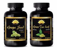 Antioxidant oil - GRAPE SEED EXTRACT - GREEN TEA - grape seed powder extract
