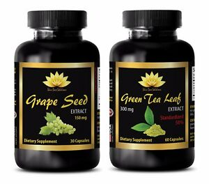 Antioxidant blend supplements - GRAPE SEED EXTRACT - GREEN TEA EXTRACT COMBO