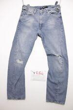 levi's engineered 0007 destroy boyfriend usato (Cod.Y884) Tg.47 W33 L34 jeans