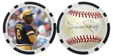 WILL STARGELL / PITTSBURGH PIRATES - POKER CHIP - GOLF BALL MARKER *SIGNED*