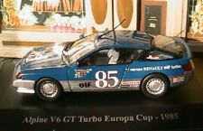 Voiture 1/43 - Alpine V6 GT Turbo Europa Cup 1985