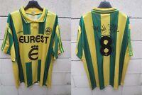 Maillot F.C NANTES 1996 ADIDAS vintage football shirt PEDROS n°8 collection XL