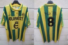 Maillot F.C NANTES 1996 ADIDAS vintage football shirt PEDROS n°8 collection XL