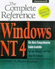 Windows Nt 4: The Complete Reference (Complete Reference Series) Griffith Kadni