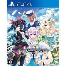 Four Goddesses Online Cyber Dimension Neptune SONY PS4 JAPANESE NEW JAPANZON