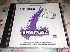 D-DRE THE GIANT  - A FINE MESS 2 - BAY  AREA  - RAP  CD