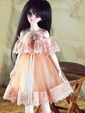 handmade doll clothes for 1/4 Bjd Slim MSD Minifee Active Line sweet dress
