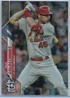 2020 Topps Series 1 Paul Goldschmidt Foilboard Parallel #'d 007/264 Cardinals