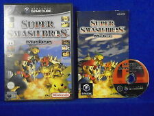 gamecube SUPER SMASH Bros Melee Nintendo PAL ENGLISH UK VERSION wii