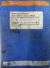 Werkstattbuch Reparaturleitfaden VW Golf Vento 4Zyl-Dieselmotor Mechanik #6703