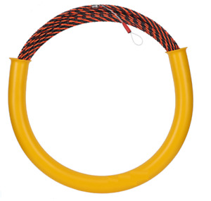 50 x 6MM Wire Conduit Cable Push Puller Rodder Snake Installation Fish Tape nbn