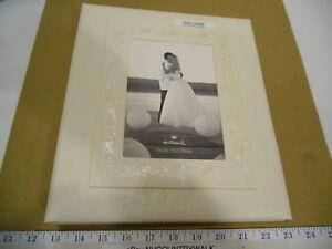 "Hallmark Stories Ivory Wedding Memory 5"" x 7"" Photo Keepsake Album Book - NOS"