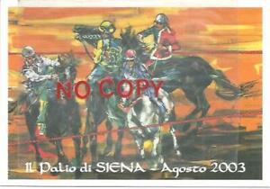 Siena, 8.2003, Il Palio. Cavalli, Equitazione.