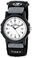 New Timex Mens Expedition Camper Black and Grey Watch T49713