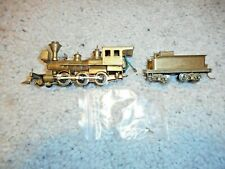 Ho Scale Brass 2-6-0 Old Time Steamer
