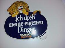 Aufkleber Zigarettenwerbung - Samson- Ich dreh meine eigenen Dinger