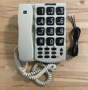 Telstra SP817BB Big Button Multi Telephone / Home Phone - Hearing Aid Compatible