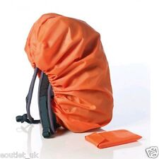 Camping Exterior Mochila Impermeable Cubierta Lluvia Nuevo Naranja