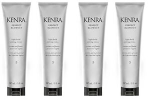 KENRA Perfect Blowout Light Hold Styling Creme 1 oz Travel Size (4 PACK)