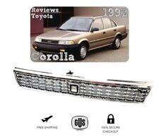 88 92 Toyota Corolla  AE101 JDM Chrome Crown Billet Style 1988 1992
