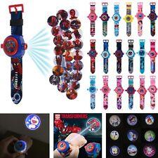 3D Cartoon Projection Watch Patrol Pokemon Paw Wristwatch Kids Children Toy Gift