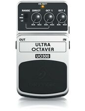 Behringer UO300 Ultra Octaver 3-Mode Octaver Effects Pedal / Stomp Box