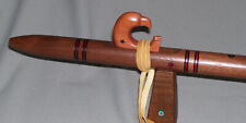 ~ Native American Style Flute - Am - Black Walnut  Eagle ~