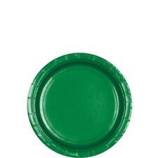 8pk Festive Green Paper Plate 17.7cm Birthday Wedding Party Tableware