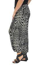 Femmes Grande taille Harem Pantalon Animal Impression Ali Baba Toute la longueur