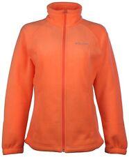 Columbia Women's Sawyer Rapids Mango Orange Full Zip Fleece Plus Size 2x