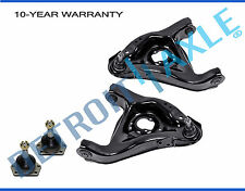 NEW 4pc Front Suspension Lower Control Arm + Upper Ball Joint Set Chevy GMC 2WD