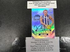 2013 SELECT AFL DRAFT PICK EMINENCE DPE68 JACK ZIEBELL NORTH MELBOURNE