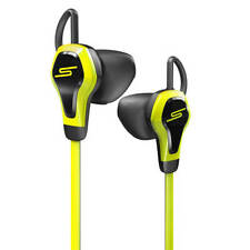 SMS Biosport Water Resistant Smart Earbuds with Heart Monitor Yellow Free P&P