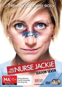 Nurse Jackie : Season 7 (DVD, 3-Disc Set) NEW