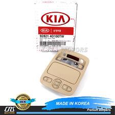 GENUINE Overhead Console Lamp Beige for 06-14 Entourage Kia Sedona 928214D100TW