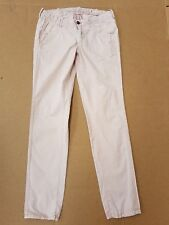 D220 WOMENS G-STAR PAGE CHINO TAPERED LEG LIGHT PINK JEANS L 12 W30 L32