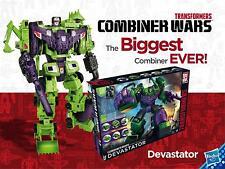 Transformers Generations G1 Combiner Wars DEVASTATOR CONSTRUCTICONS TITAN CLASS